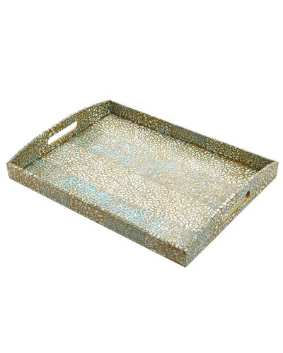 Carolyn Donnelly Eclectic Eggshell Serving Tray