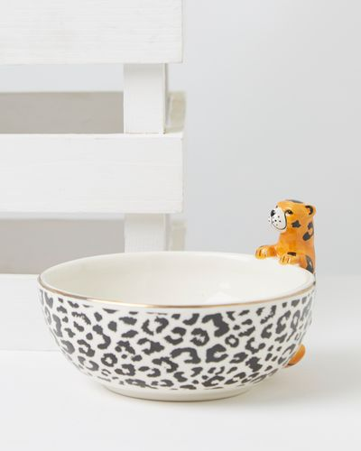 Carolyn Donnelly Eclectic Cheetah Dip Bowl thumbnail