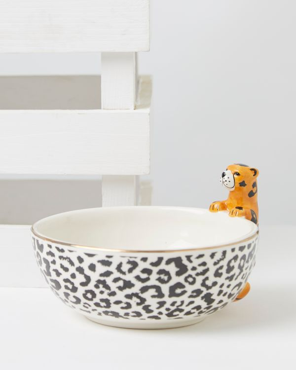 Carolyn Donnelly Eclectic Cheetah Dip Bowl