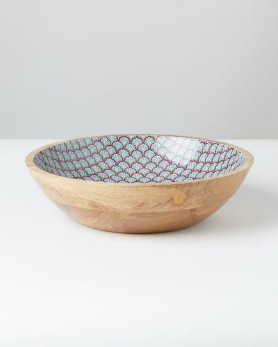 Carolyn Donnelly Eclectic Wooden Serving Bowl thumbnail