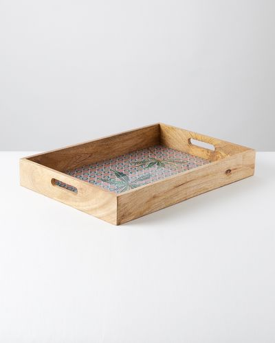 Carolyn Donnelly Eclectic Wooden Tray