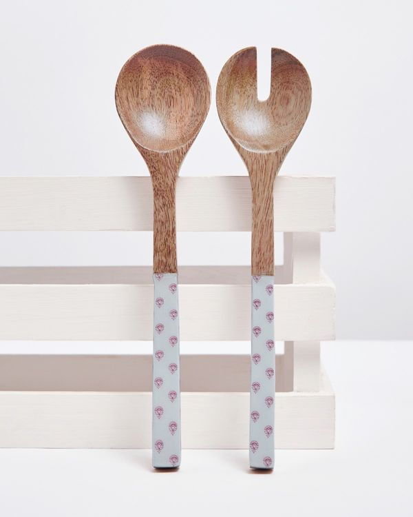 Carolyn Donnelly Eclectic Wooden Serving Spoons