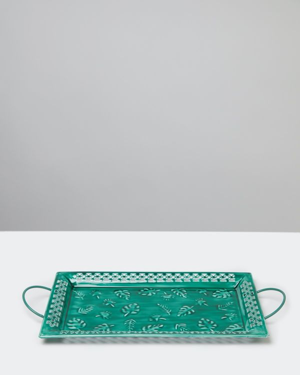 Carolyn Donnelly Eclectic Enamel Serving Tray