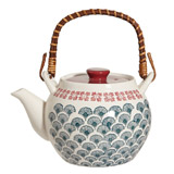 dark-green Carolyn Donnelly Eclectic Rosie Teapot