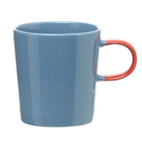 light-blue Carolyn Donnelly Eclectic Swatch Mug
