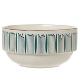 green Carolyn Donnelly Eclectic Stacking Bowl