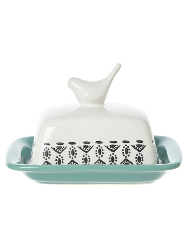 Carolyn Donnelly Eclectic Bird Butter Dish