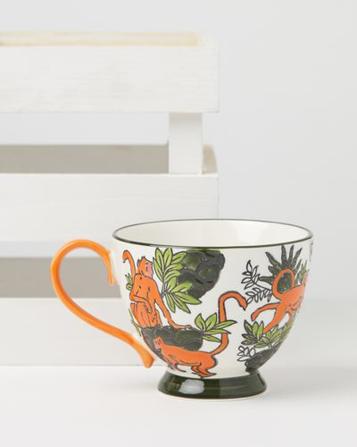 Carolyn Donnelly Eclectic Floral Painted Mug