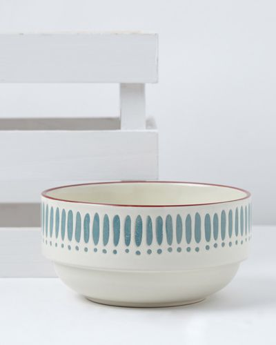 Carolyn Donnelly Eclectic Dash Dot Bowl