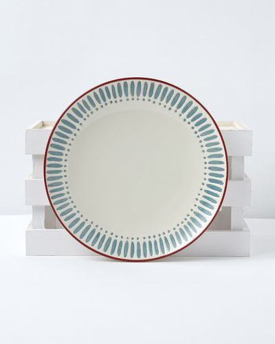 Carolyn Donnelly Eclectic Dash Dot Dinner Plate thumbnail