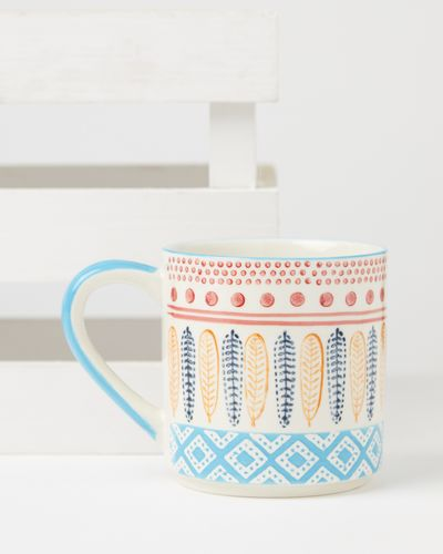 Carolyn Donnelly Eclectic Aztec Colour Block Mug