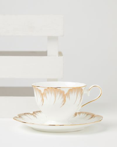 Carolyn Donnelly Eclectic Bone China Cup And Saucer