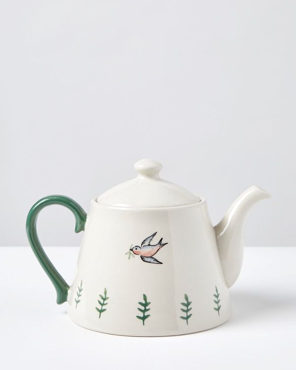 Carolyn Donnelly Eclectic Birdie Teapot