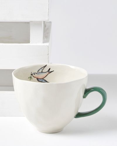 Carolyn Donnelly Eclectic Birdie Mug