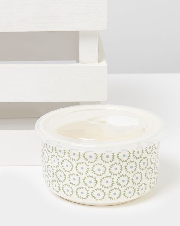 Carolyn Donnelly Eclectic Small Ceramic Storage Pot