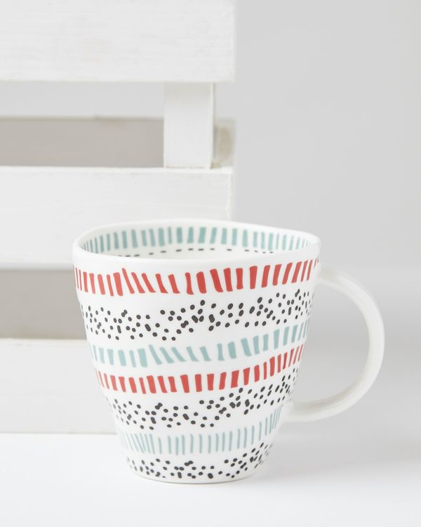 Carolyn Donnelly Eclectic Dotty Mug