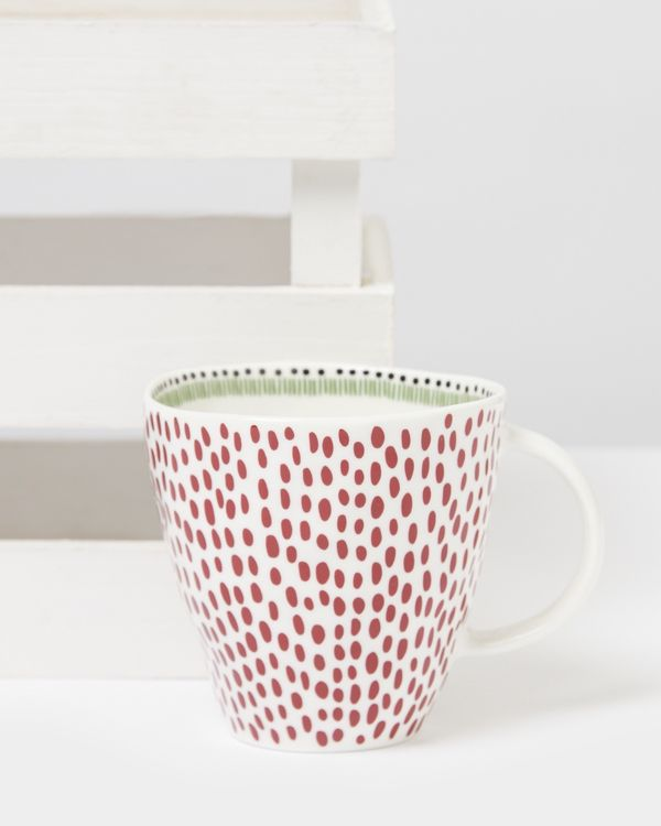 Carolyn Donnelly Eclectic Dotty Mug