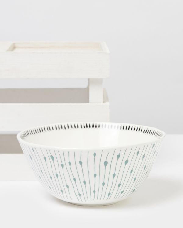 Carolyn Donnelly Eclectic Dotty Large Bowl