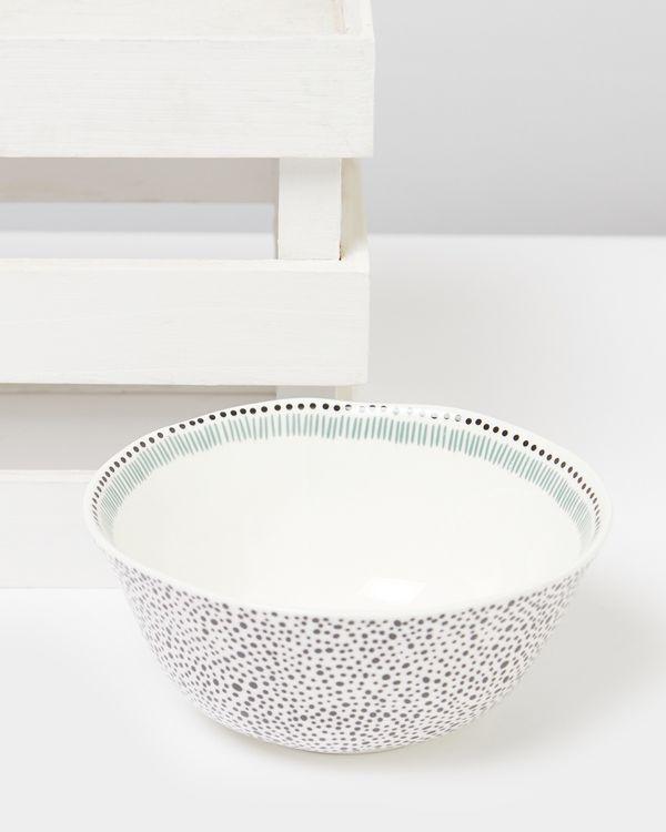 Carolyn Donnelly Eclectic Dotty Medium Bowl