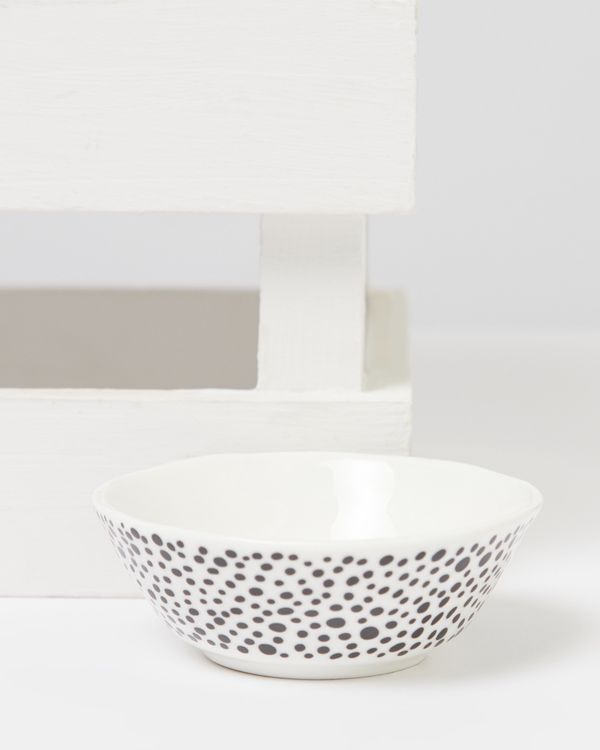 Carolyn Donnelly Eclectic Dotty Mini Bowl