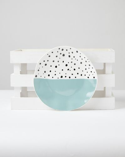 Carolyn Donnelly Eclectic Dotty Side Plate