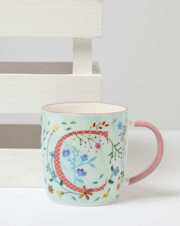 Carolyn Donnelly Eclectic Alphabet Mug