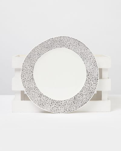 Carolyn Donnelly Eclectic Dotty Dinner Plate