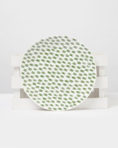 Carolyn Donnelly Eclectic Dotty Dinner Plate thumbnail