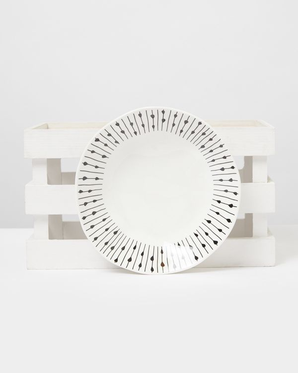 Carolyn Donnelly Eclectic Dotty Pasta Bowl