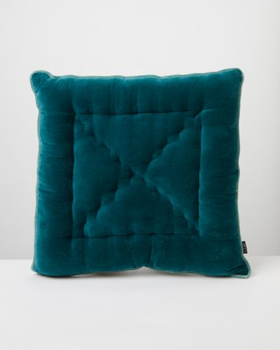 Carolyn Donnelly Eclectic Contrast Velvet Seat Pad