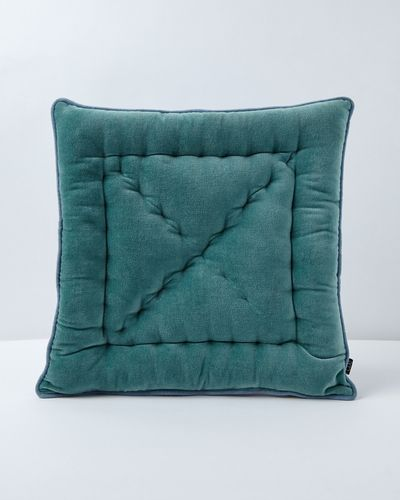 Carolyn Donnelly Eclectic Contrast Velvet Seat Pad thumbnail