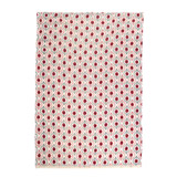 red Carolyn Donnelly Eclectic Gingham Tea Towel