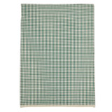 green Carolyn Donnelly Eclectic Gingham Bloom Tea Towel