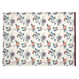 cream Carolyn Donnelly Eclectic Bloom Tea Towel