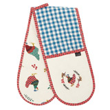 multi Carolyn Donnelly Eclectic Chicken Double Oven Glove