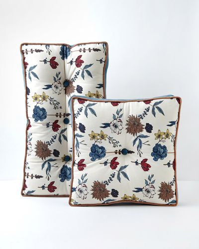 Carolyn Donnelly Eclectic Meadow Printed Cotton Seat Pad