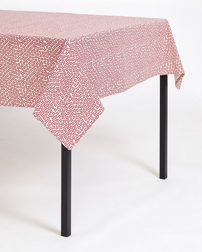Carolyn Donnelly Eclectic Printed Tablecloth thumbnail
