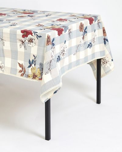 Carolyn Donnelly Eclectic Meadow Printed Tablecloth thumbnail