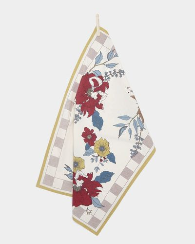 Carolyn Donnelly Eclectic Meadow Flat Weave Tea Towels