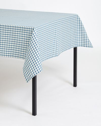 Carolyn Donnelly Eclectic Gingham Tablecloth