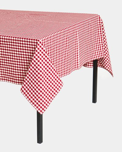 Carolyn Donnelly Eclectic Gingham Tablecloth thumbnail