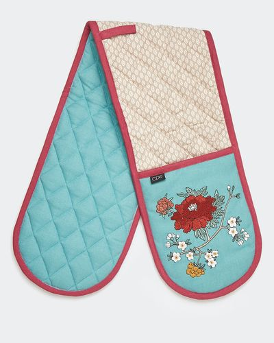 Carolyn Donnelly Eclectic Flora Double Oven Glove