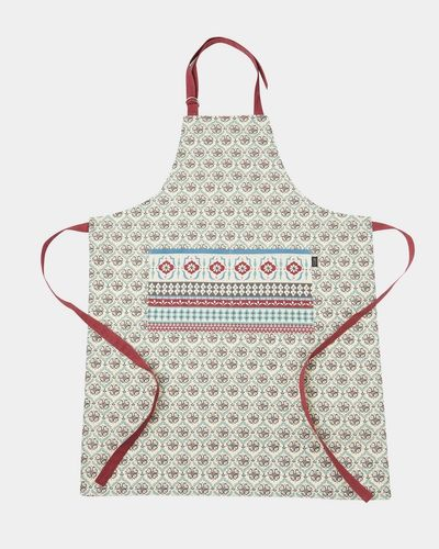 Carolyn Donnelly Eclectic Tile Printed Cotton Apron