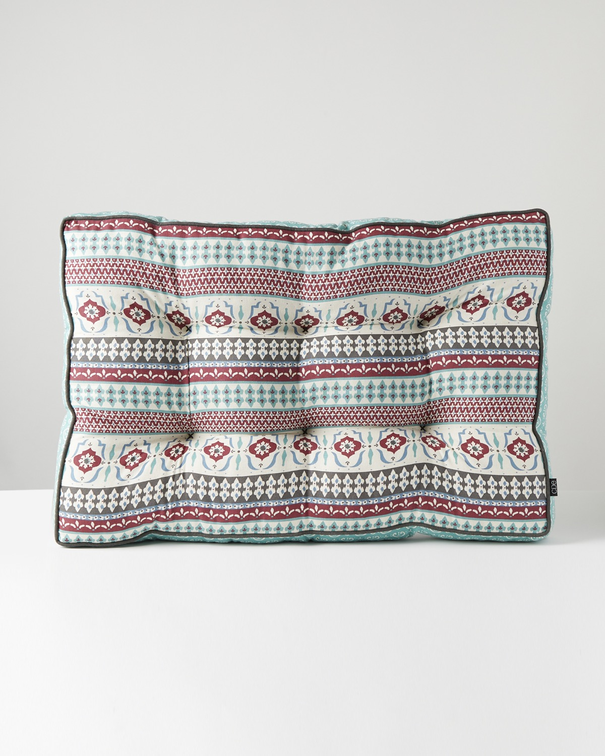 Carolyn Donnelly Eclectic Tile Print Cotton Seatpad
