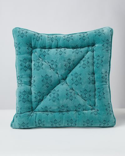 Carolyn Donnelly Eclectic Printed Velvet Seat Pad thumbnail