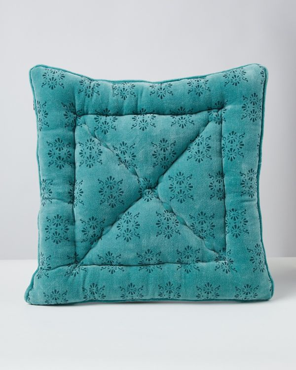 Carolyn Donnelly Eclectic Printed Velvet Seat Pad