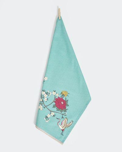 Carolyn Donnelly Eclectic Sakura Flat Weave Tea Towel thumbnail