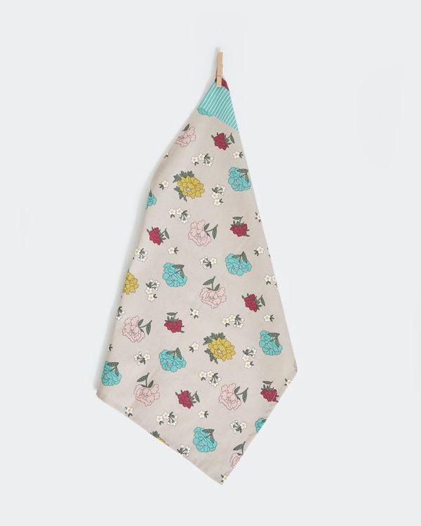 Carolyn Donnelly Eclectic Sakura Flat Weave Tea Towel