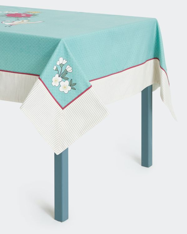 Carolyn Donnelly Eclectic Sakura Printed Tablecloth