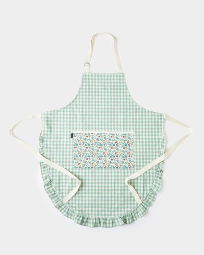 Carolyn Donnelly Eclectic Gingham Frill Apron